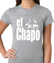 The God Father Inspired El Chapo Ladies T-shirt