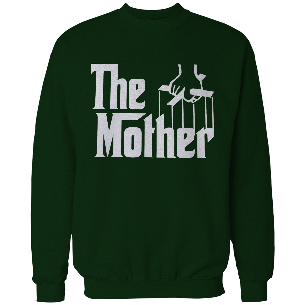 The Mother Funny Adult Crewneck
