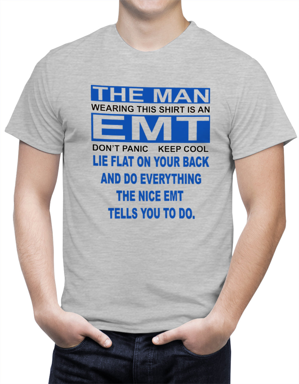 The Nice EMT Men's T-Shirt