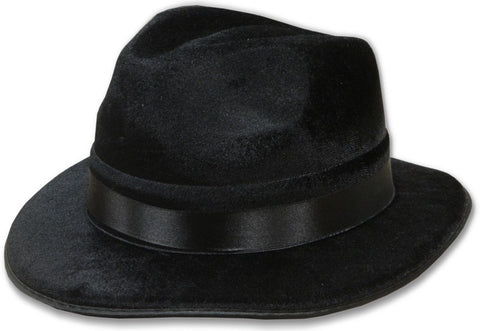 The Pop Star Dance Costume Black Fedora Hat