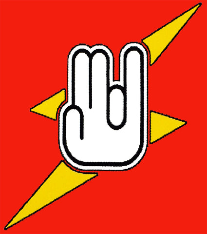 """The Shocker"" Three Finger ""One in the Stinky"" Mens T-Shirt"
