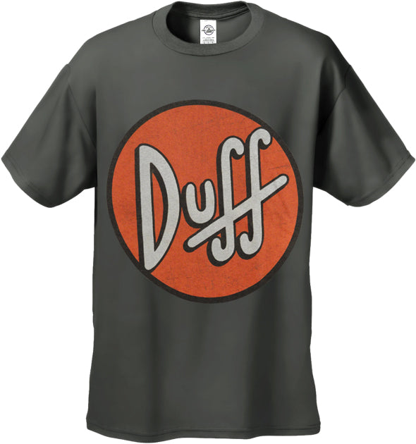 The Simpsons Official Duff Beer Men's T-Shirt