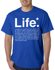 The Terms of Life Mens T-shirt