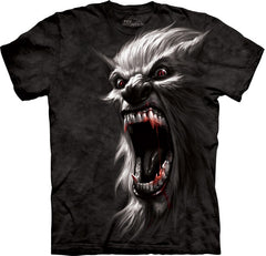 The Werewolf Big Face Men's T-Shirt