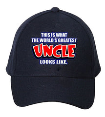 The World's Greatest Uncle Baseball Hat