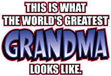 The Worlds Greatest Grandma Girls T-Shirt