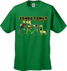 The Zombie Family Kid's T-Shirt