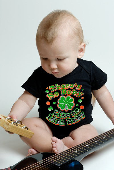 There's No Baby Like An Irish Baby Onesie