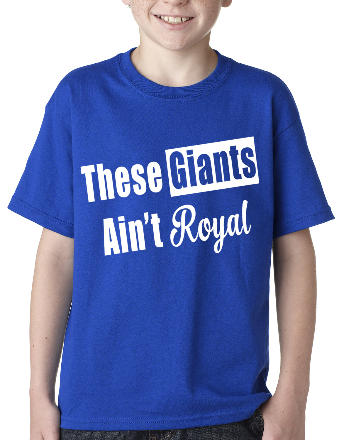 These Giants Ain't Royal Kids T-shirt
