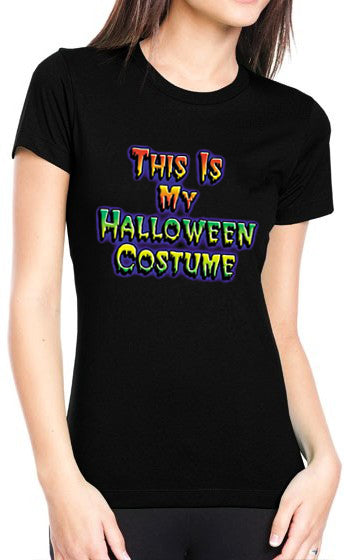 This Is My Halloween Costume Girls T-Shirt