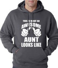 This Is What An Awesome Aunt Looks Like Adult Hoodie