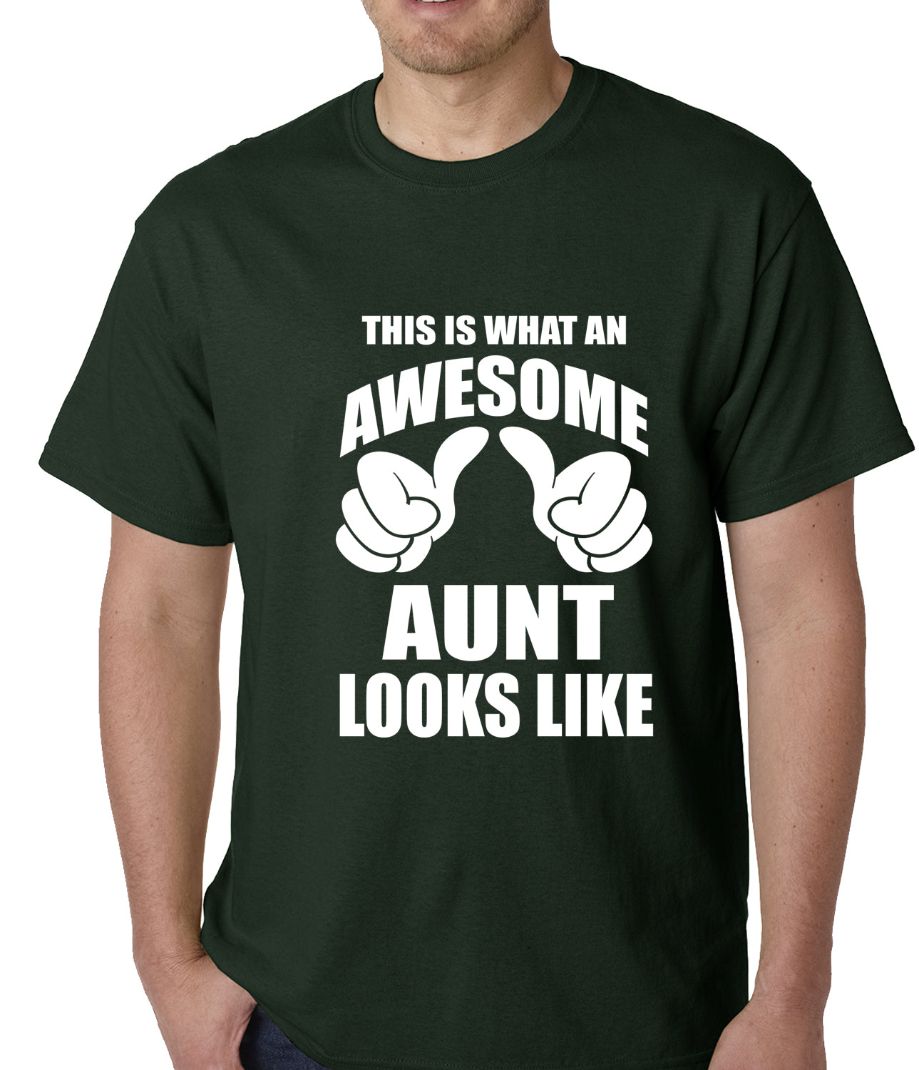 This Is What An Awesome Aunt Looks Like Mens T-shirt