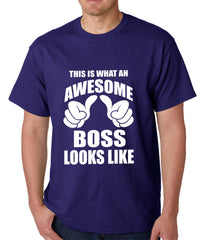 This Is What An Awesome Boss Looks Like Mens T-shirt