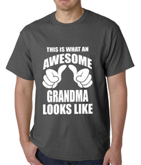 This Is What An Awesome Grandma Looks Like Mens T-shirt