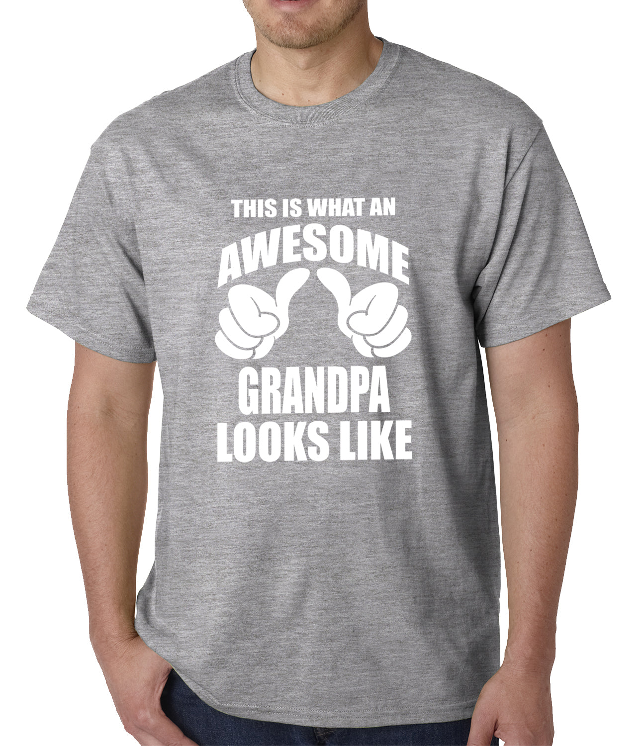 This Is What An Awesome Grandpa Looks Like Mens T-shirt