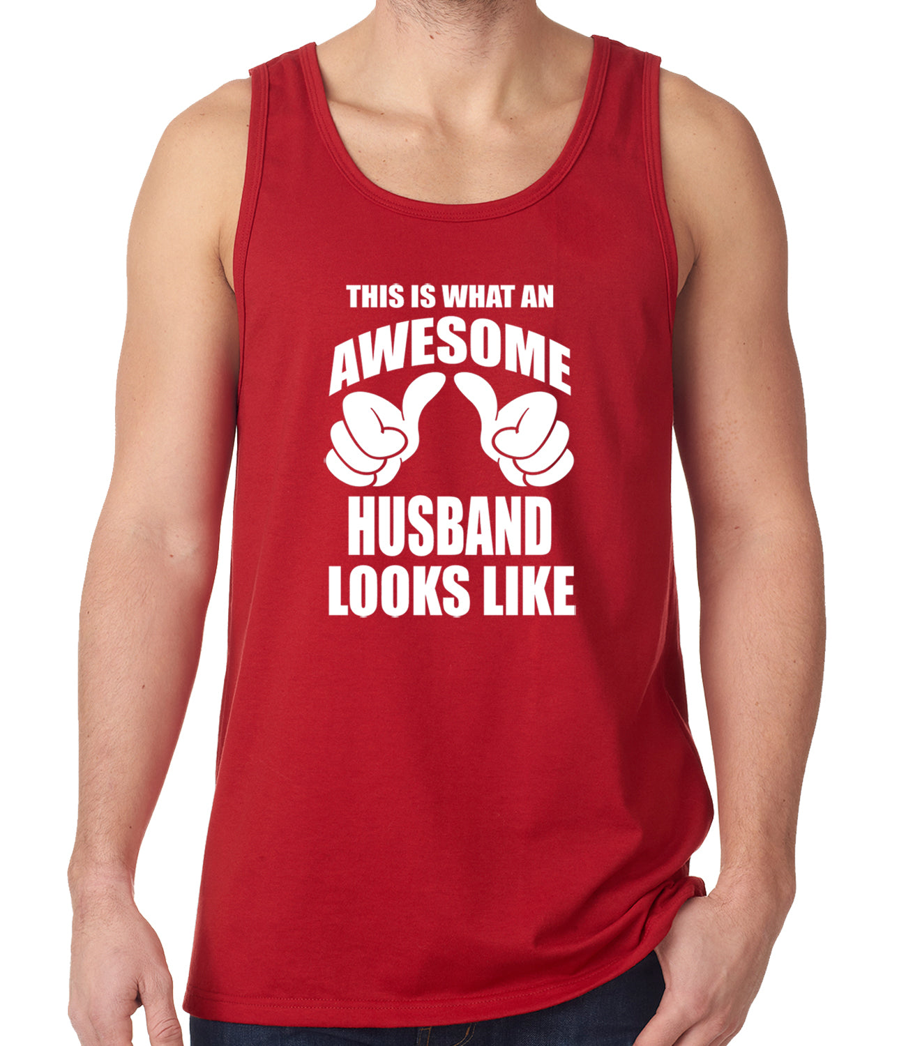 This Is What An Awesome Husband Looks Like Tank Top