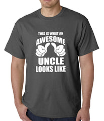 This Is What An Awesome Uncle Looks Like Mens T-shirt