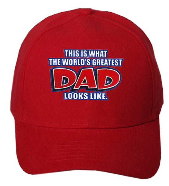 262787856 This Is What The World's Greatest Dad looks Like Baseball Hat