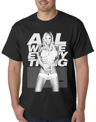 Tits clothing - All White Everything Mens T-shirt