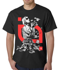 "Tits clothing ""Rolling in Dough"" Mens T-Shirt"