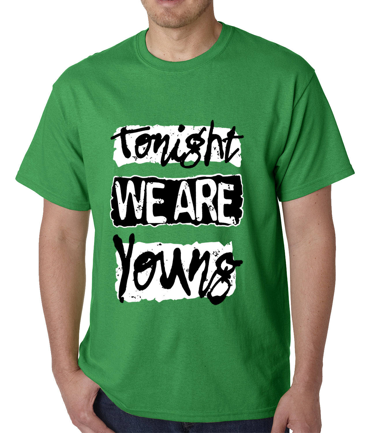 Tonight We Are Young Mens T-shirt