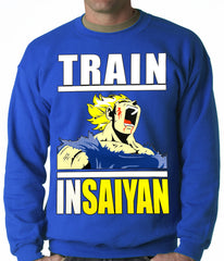 Train Like Insaiyan Adult Crewneck