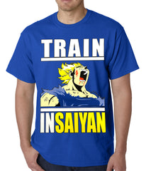 Train Like Insaiyan Mens T-shirt