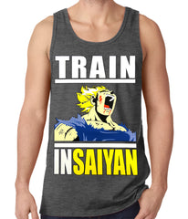 Train Like Insaiyan Tank Top