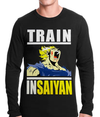 Train Like Insaiyan Thermal Shirt