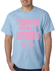 Training To Be A Superhero's Wife Mens T-shirt
