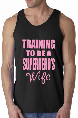 Training To Be A Superhero's Wife Tanktop