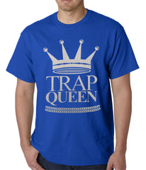 Trap Queen Full Silver Mens T-shirt