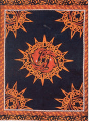 Tribal Dolphins Tapestry