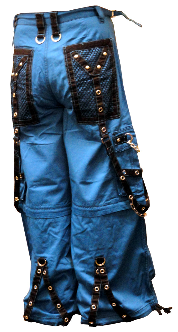 "Tripp Blue NYC ""Arctic Nightmare"" Bondage Pants (Blue)"