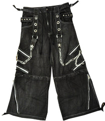 "Tripp Darkstreet NYC -  ""Black Acid"" Bondage Pants (Black)"