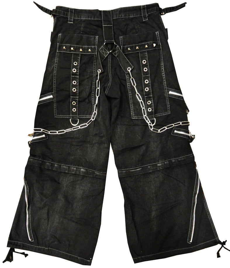 "Tripp NYC ""Black Acid"" Bondage Pants (Black)"