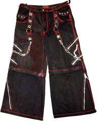 "Tripp NYC ""Blood Stained"" Bondage Pants"