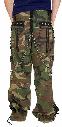 "Tripp NYC ""Camo Chain"" Combat Pants"