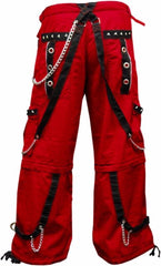 "Tripp NYC ""Crimson Specter"" Bondage Pants (Red)"