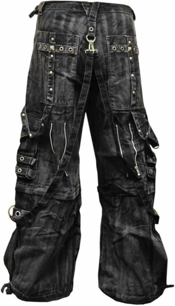 "Tripp NYC ""Gothic Mechanic Wash"" Bondage Pants"
