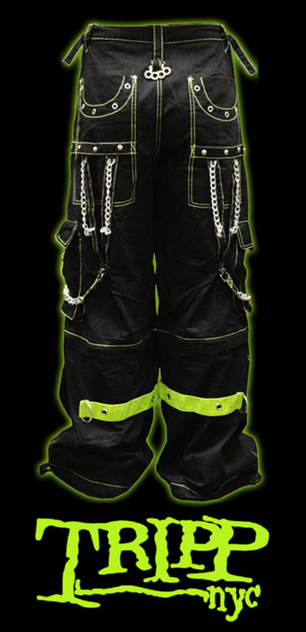 Green Bondage Pants