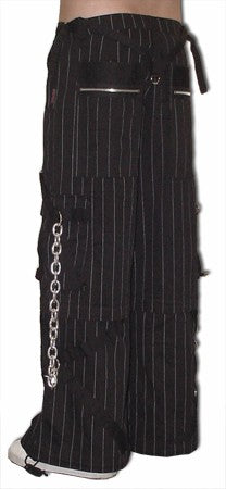 Tripp Pinstripe Godfather WideLeg Pants (32 inch bottoms)