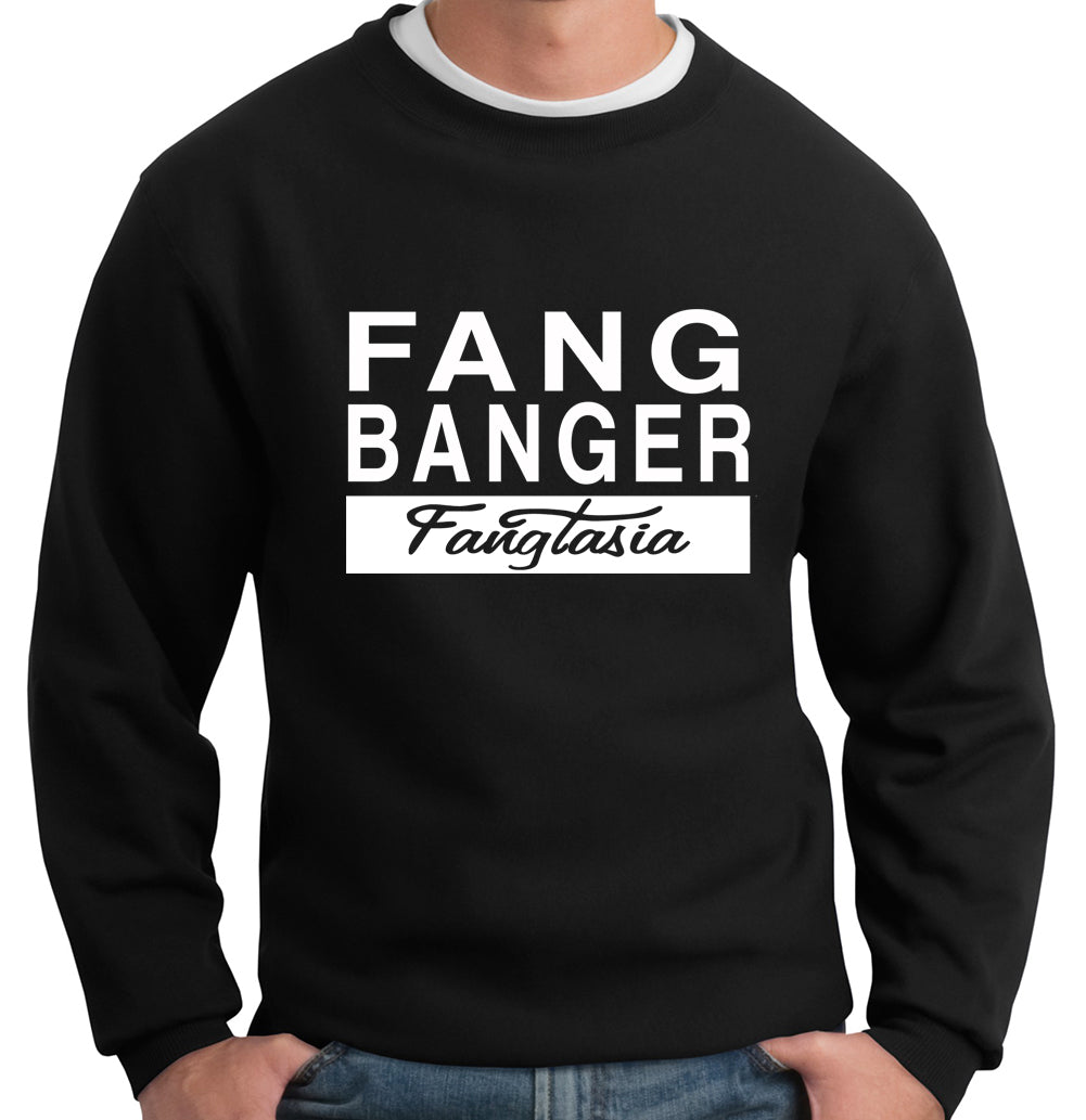 True Blood Fangtasia Fang Banger Crew Neck Sweatshirt
