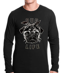 Tupug Pug Life Thermal Shirt