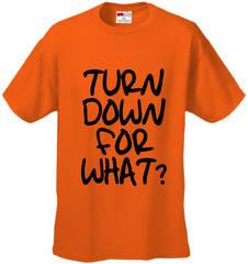 Turn Down For What? Men's Hip-Hop T-Shirt