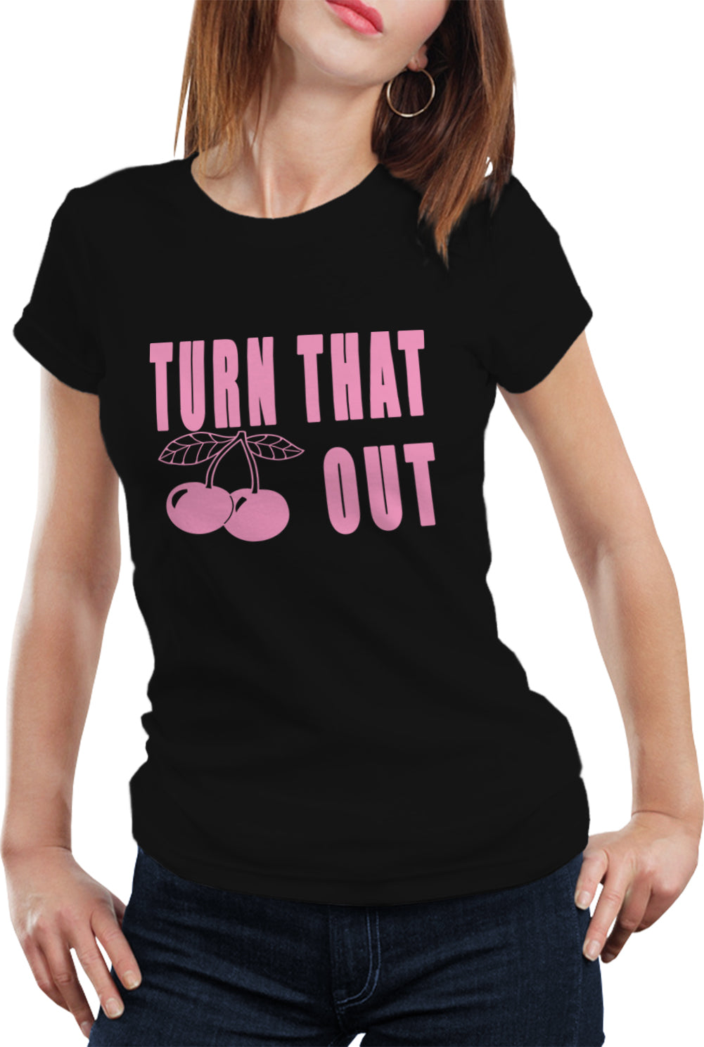 Turn That Cherry Out Girl's T-Shirt