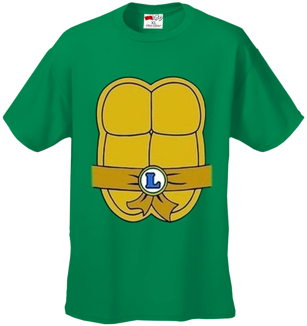 Turtle Costume with Letter Buckle Kid's T-Shirt