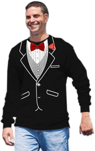 All Occasion Formal Tuxedo Long sleeve T-Shirt