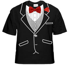 Tuxedo T-Shirt - Mens All Occasion Formal Tuxedo T-Shirt