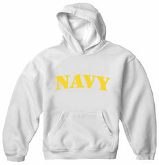 U.S Navy Military Adult Hoodie (Yellow)